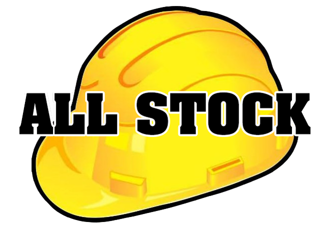 Hard hat all stock logo